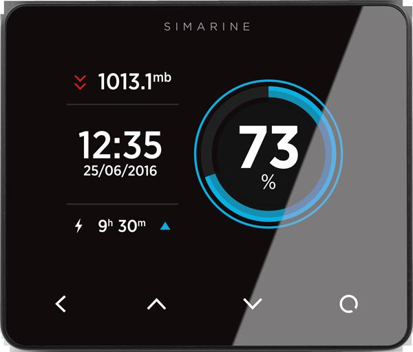 Simarine PICOone Paket Batteriemonitor System schwarz