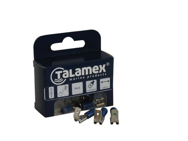 Talamex Flachsteckerhülse mit Abzweig (verschiedene Typen)
