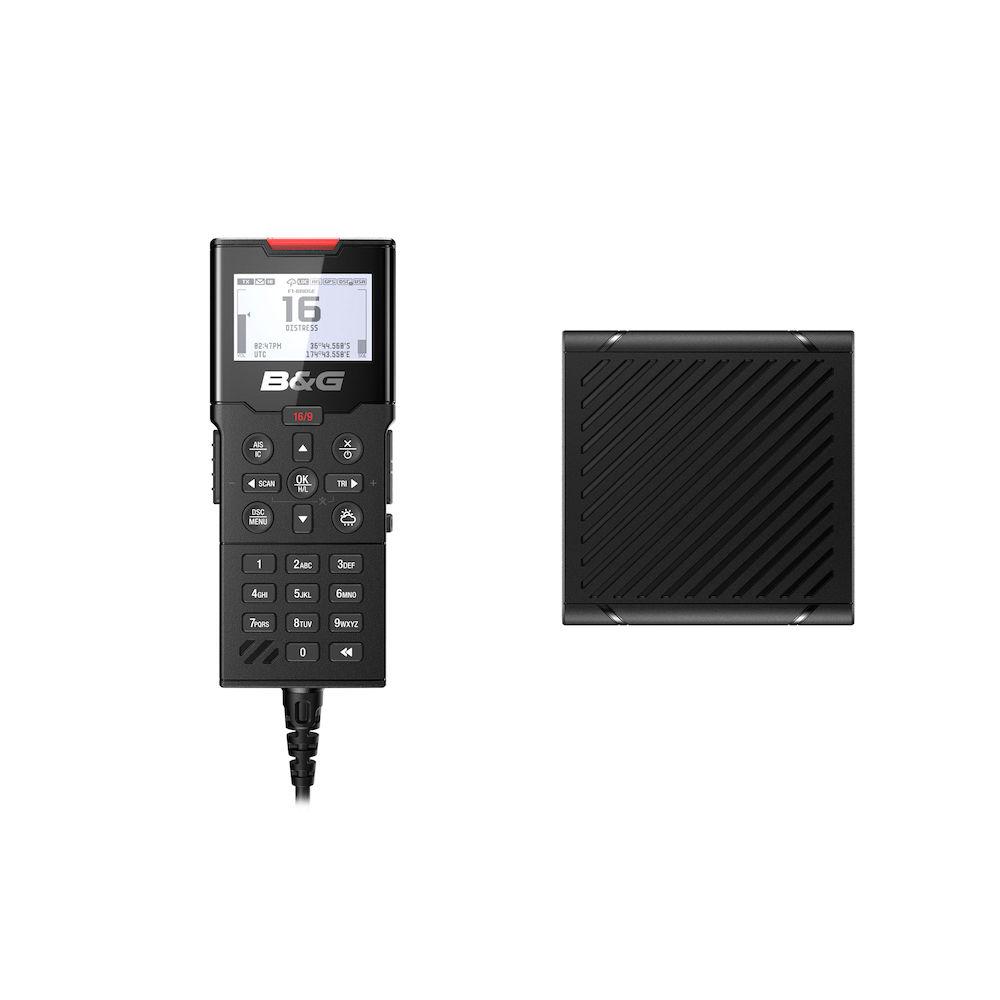 B&G H100 Bedienteil und Lautsprecher