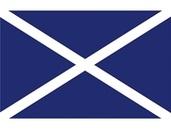Talamex Buchstabenwimpel Abm. 30 x 36 cm Signalflagge M