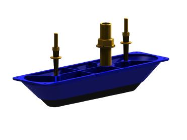 NAVICO Bronze StructureScan HD Sonar Durchbruchmontage-Geber (Single)