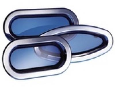 LEWMAR Edelstahl Portlight Size / Serie 1 fest