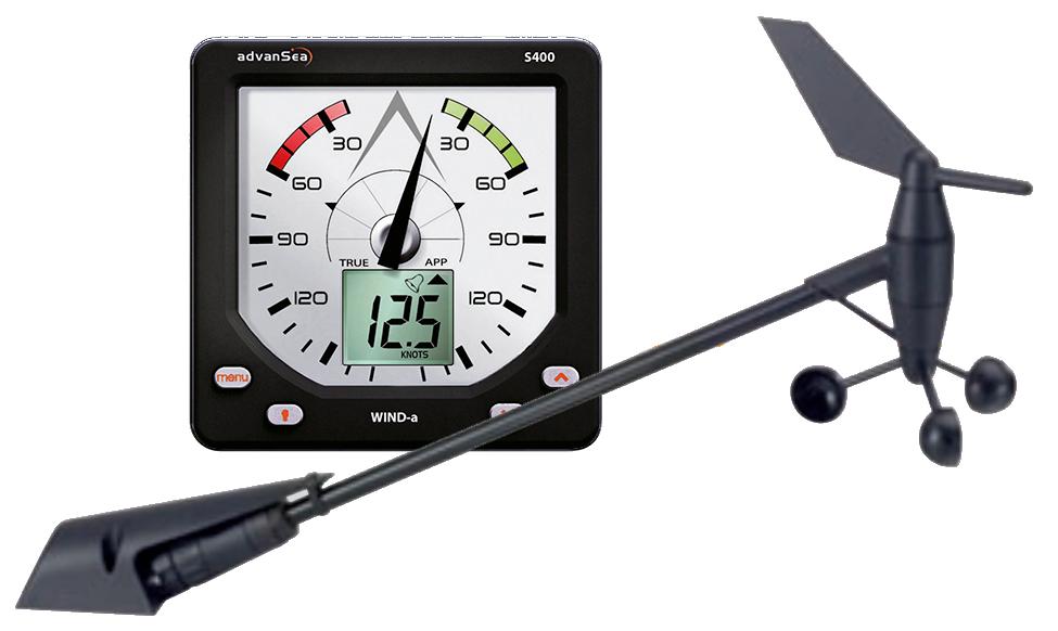 AdvanSea S400-a WIND Set mit Anzeige, Geber und Kabel