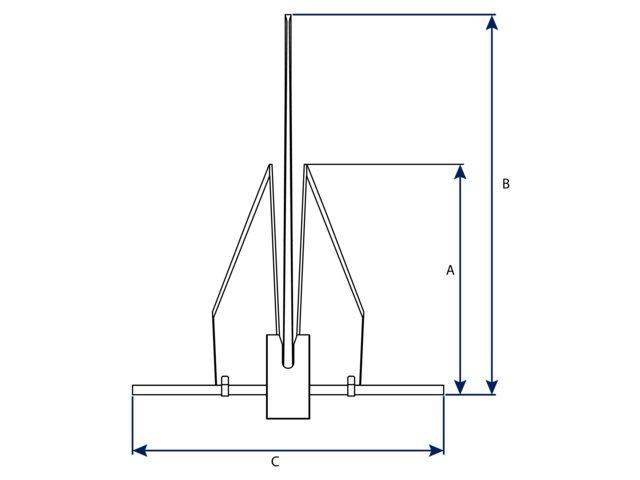 Lewmar LFX Aluminium Anker