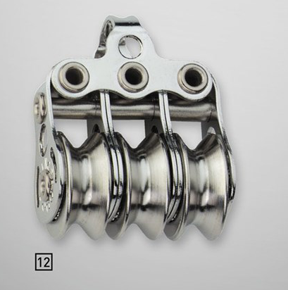 Sprenger 4mm Kugellager Micro XS Drahtblock dreifach mit Bügel
