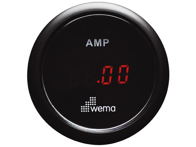 Wema Amperemeter schwarz