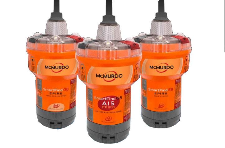 McMurdo SmartFind G8 EPIRB (verschiedene Typen)