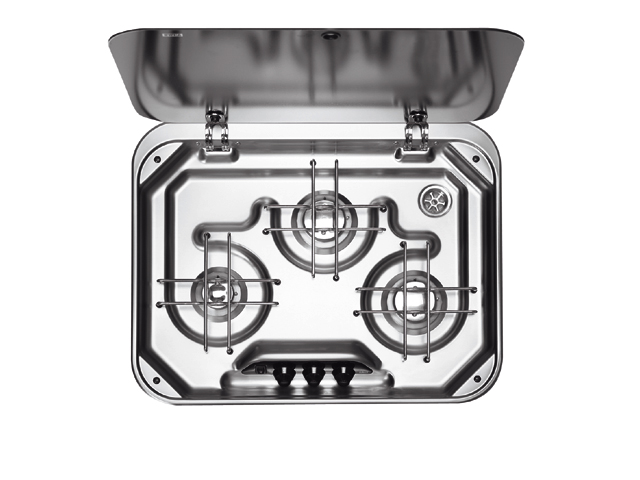 Dometic Kochmulde mit Glasabdeckung PI8063M 3-flammig