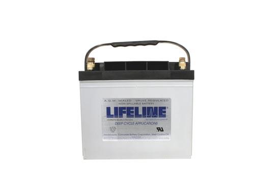 Lifeline GPL-24M AGM Batterie 80 Ah