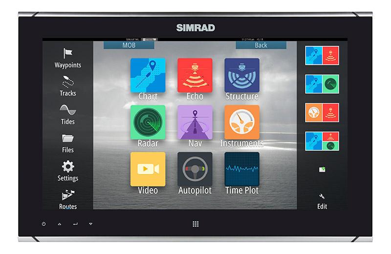 Simrad MO16 Monitor in verschiedenen Ausführungen