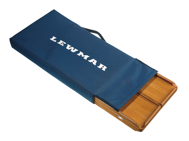 Lewmar Teak Cockpit Tische für Lewmar Steuersäulen