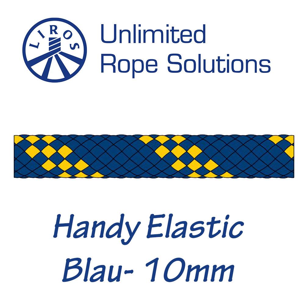 Liros Handy-Elastic blau 10mm
