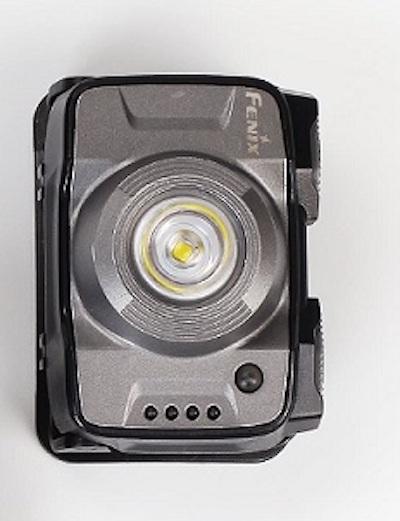 Fenix HL12R LED Stirnlampe in Grau