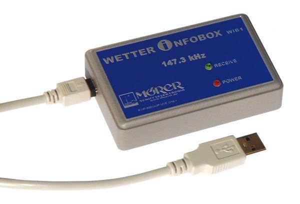 MÖRER Wetterinfobox WIB1 Seewetter DWD für den PC (USB)