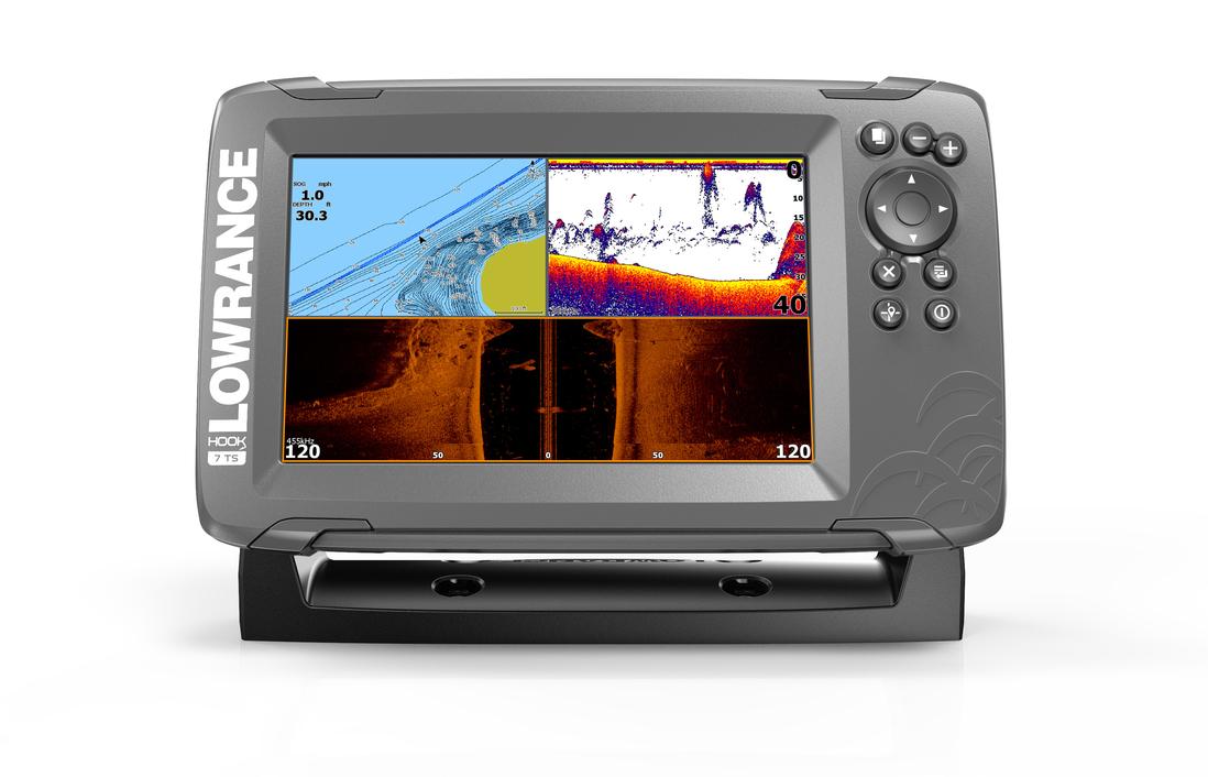 Lowrance Hook2-7 TripleShot GPS Combo Echolot