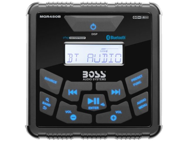 Boss Audio MGR450B Radio Bluetooth Player