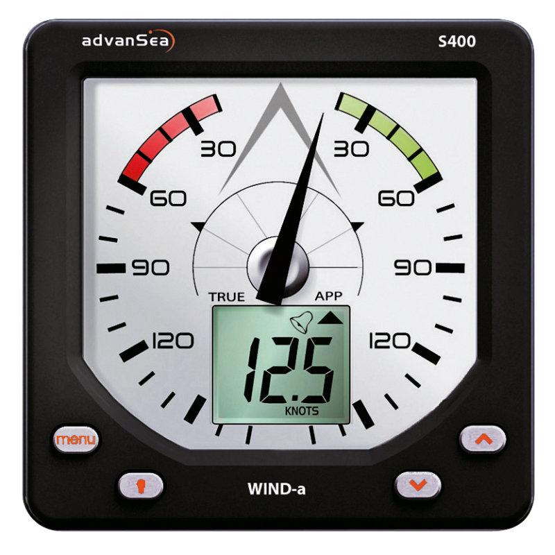 AdvanSea S400-a WIND Anzeige