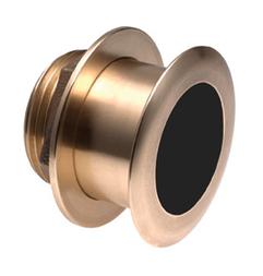 NAVICO B164 Bronze Low Profile Durchbruchgeber 1kW 50/200 Khz Tiefe/Temp - blauer 7 pin Stecker