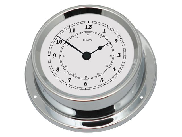 Talamex Serie 125 Messing verchromt Uhr