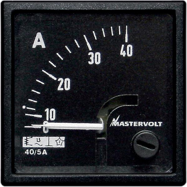 MASTERVOLT Amperemesser 0-40 A Wechselstrom