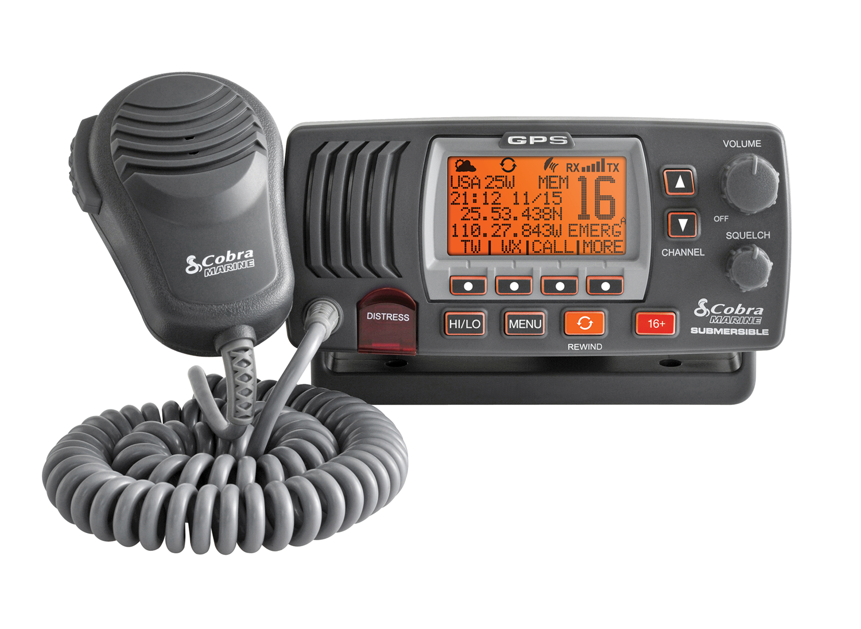 Cobra Marine MRF77EU UKW Sprechfunkgerät DSC ATIS GPS