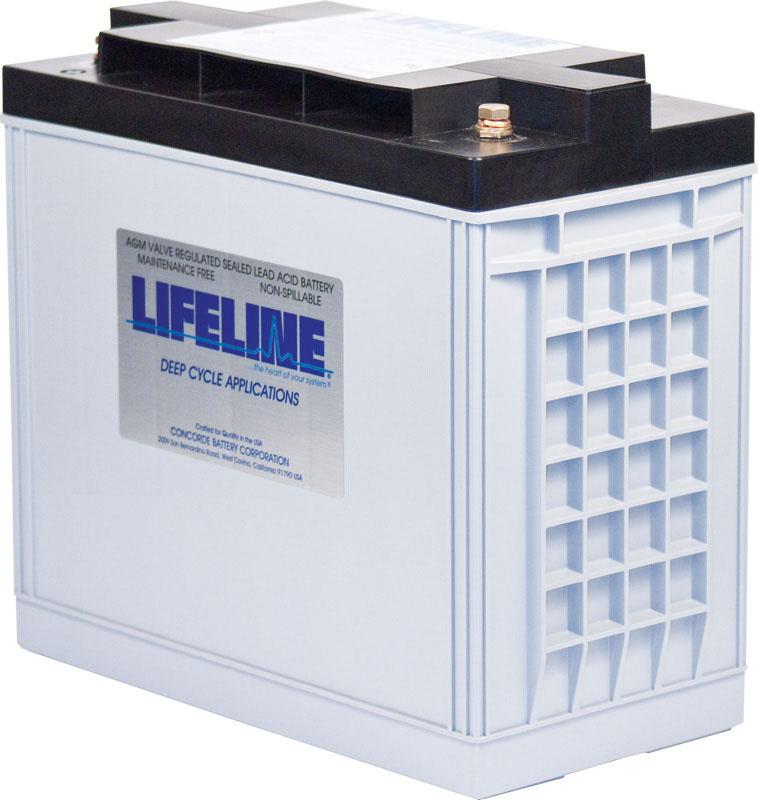 Lifeline GPL-30HT AGM Batterie 150 Ah