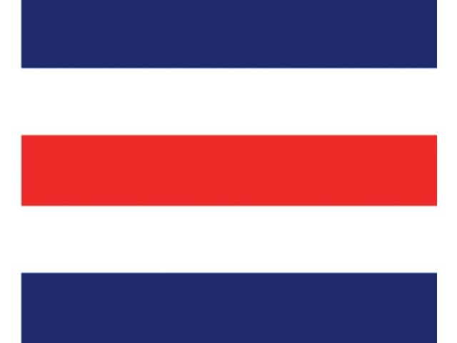 Talamex Buchstabenwimpel Abm. 30 x 36 cm Signalflagge C