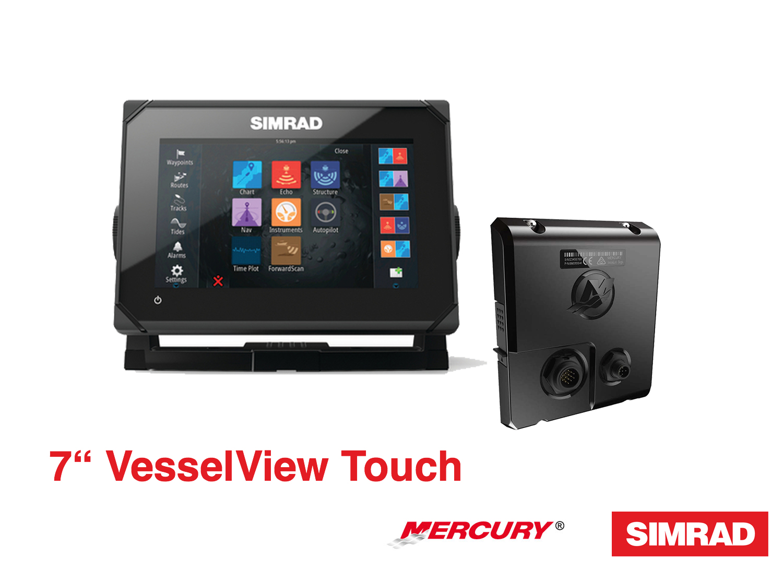 Simrad Mercury VesselView Touch Kit (versch. Typen)