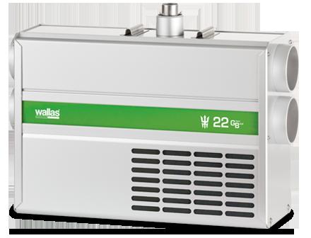 WALLAS 22GB Diesel-Heizung 1000-2500W
