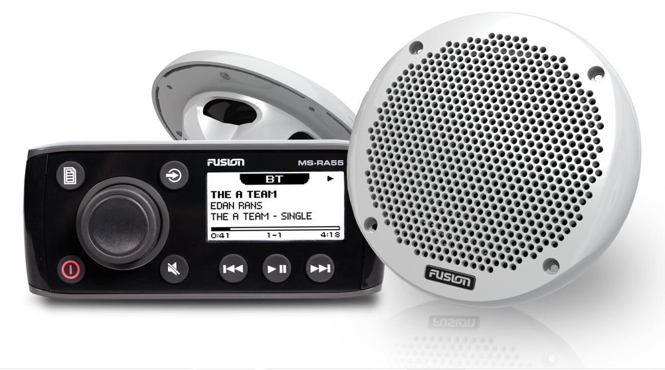 Fusion marine MS-RA55 Kit mit Lautsprecher
