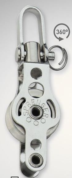 Sprenger 4mm Kugellager Micro XS Drahtblock einfach mit Wirbel und Hundsfott