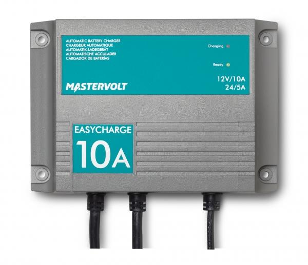 Mastervolt Batterieladegerät EasyCharge 10A, 2 Ausgänge, IP68