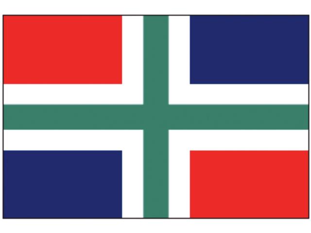 Talamex Flagge Provinz Groningen (verschiedene Größen)