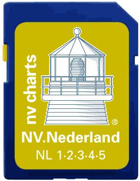 NV Verlag Elektr. Seekarte Niederlande auf SD