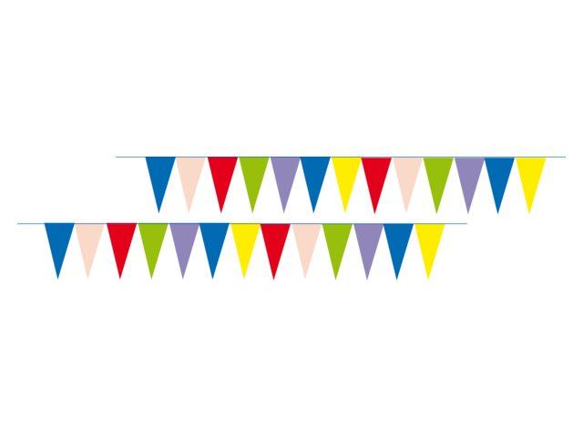 Talamex Wimpelkette farbig