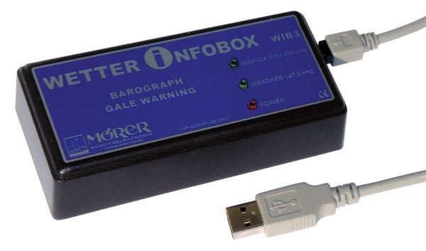 MÖRER - Seewetter Navtex Barograph für PC mit USB (WIB3)