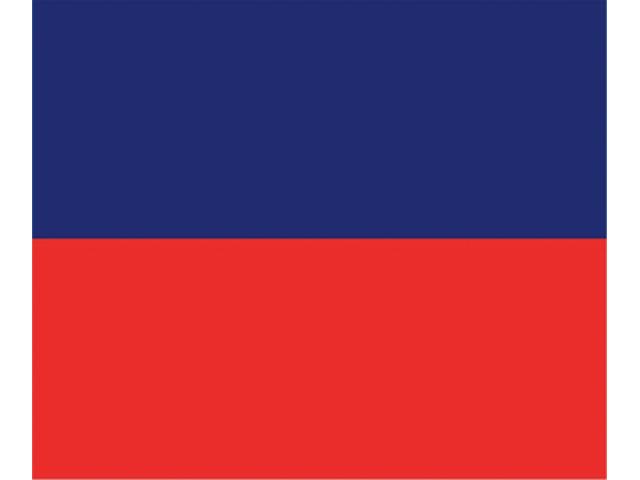 Talamex Buchstabenwimpel Abm. 30 x 36 cm Signalflagge E