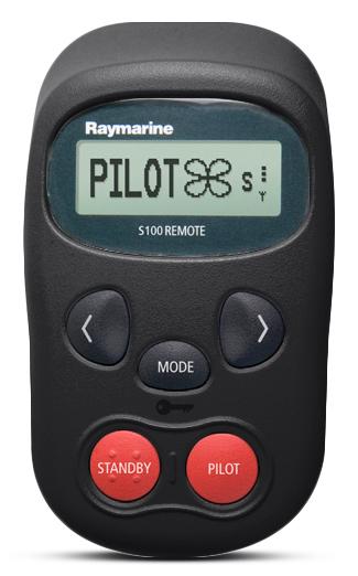 Raymarine S100 Autopilot Fernbedienung schwarz günstig online kaufen