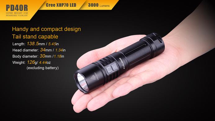 Fenix PD40R Cree XHP70 LED günstig online kaufen