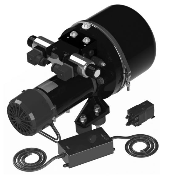 Dauerläufer Hydraulikpumpe für Autopiloten 24V
