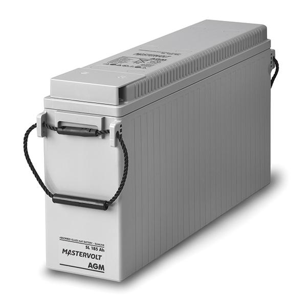 MASTERVOLT AGM Batterie Slimline 12/185