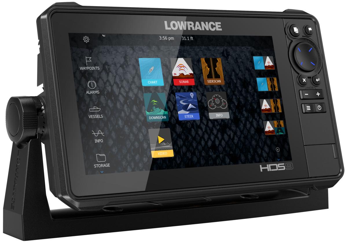 Lowrance HDS-9 Live GPS MFD Echolot