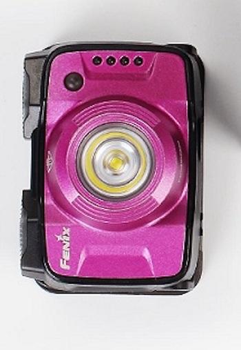 Fenix HL12R LED Stirnlampe in Lila