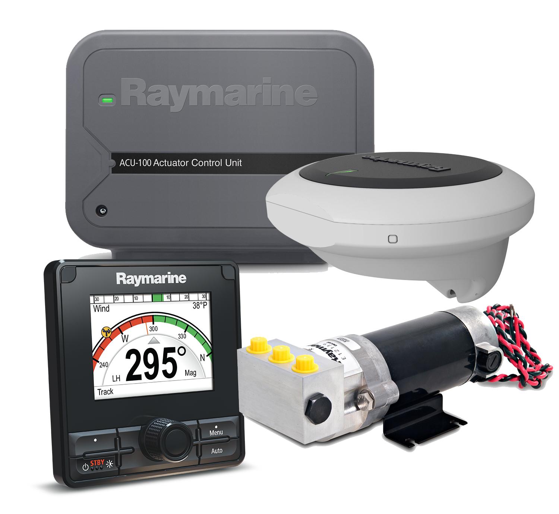 Raymarine T70154 Autopilot Power Hydraulik Motorboot Set