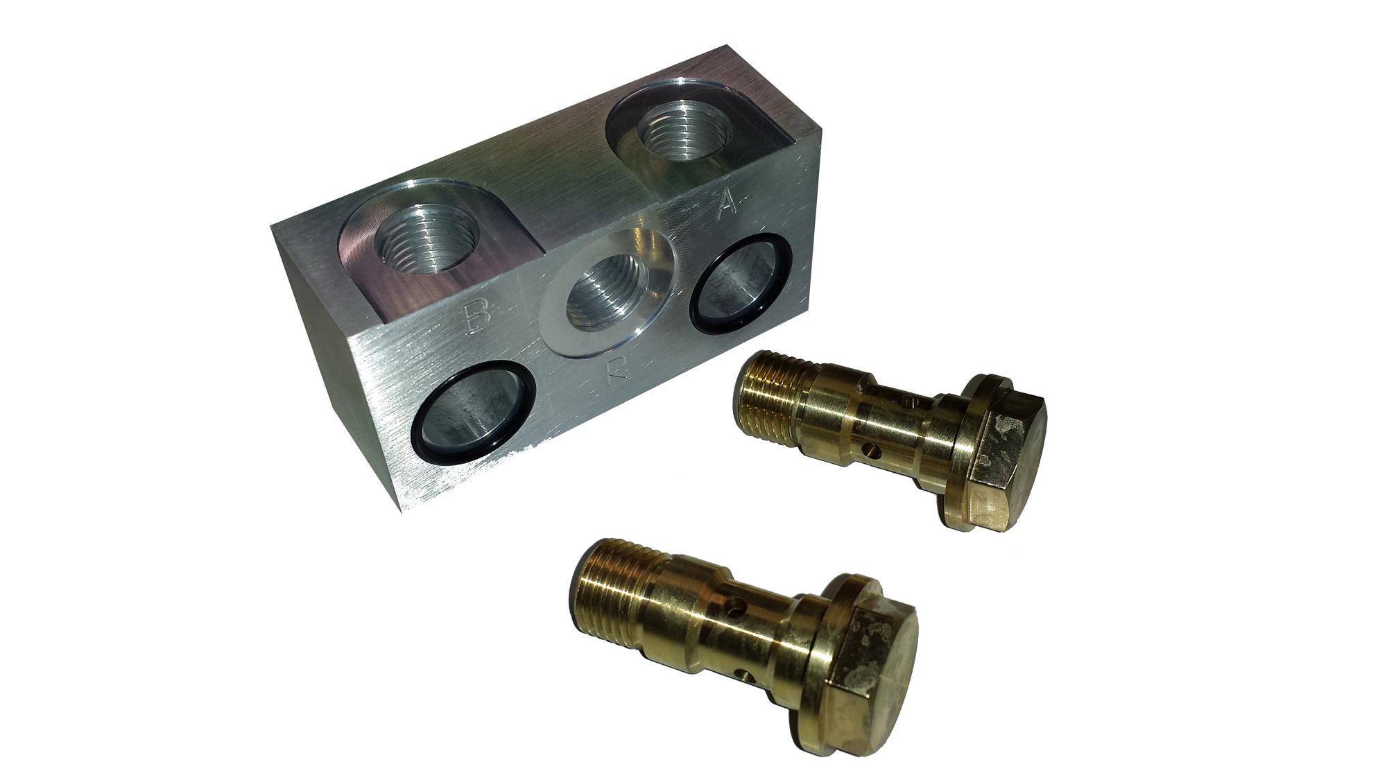 Hydraulikpumpen Port Adapter