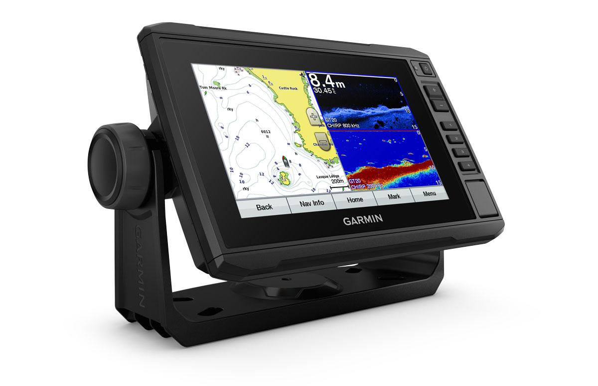 Garmin EchoMap Plus 72cv GPS Kartenplotter mit Echolot (ohne Geber)