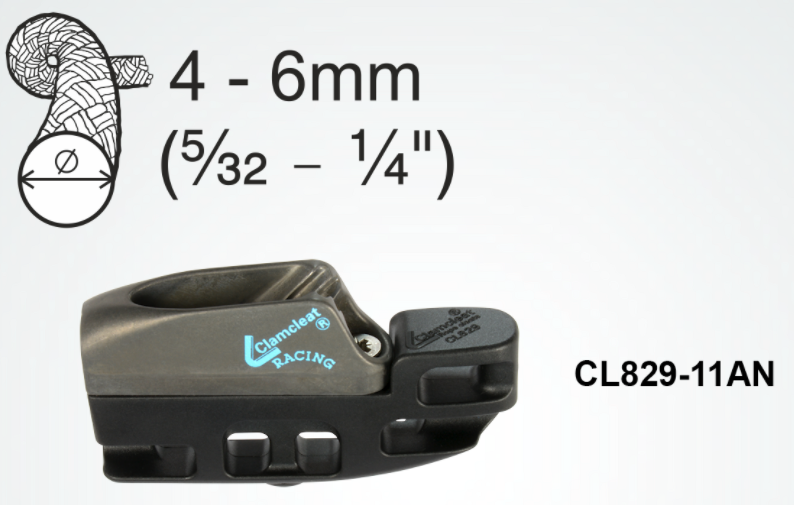 Clamcleat Kite Surf Klemme CL829-11