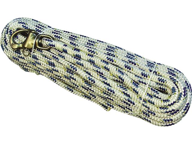 TALAMEX Fall mit Schnappwirbelschäkel aus Edelstahl, 8 mm