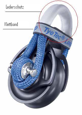 Lederschutz für Loopblock 80