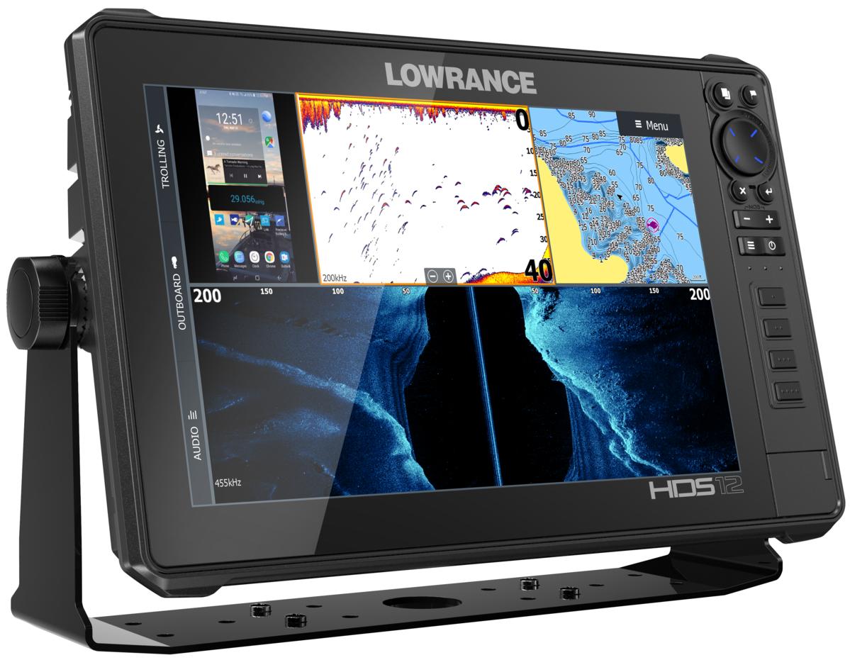 Lowrance HDS-12 Live GPS MFD Echolot